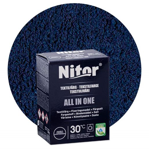 Nitor all-in-one textilfarve