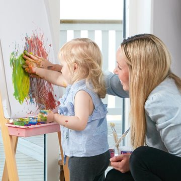 Male med børn